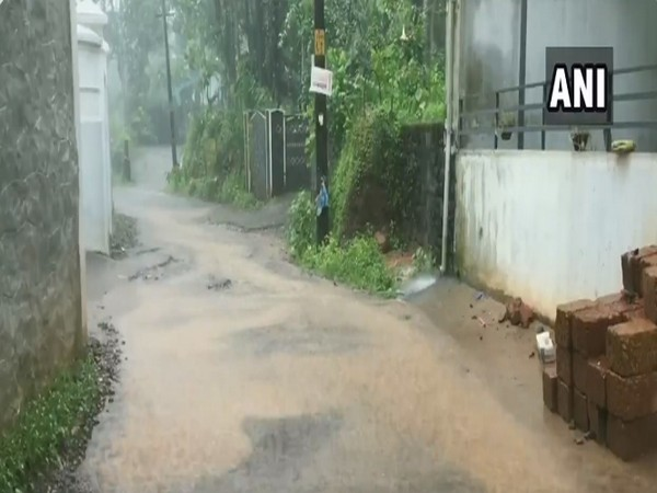 Kozhikode in Kerala continues to receive heavy rainfall, where IMD had issued Red Alert for today (Photo/ANI)