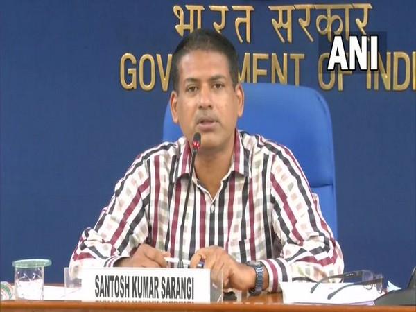 Additional Secretary of the Department of School Education and Literacy Santosh Kumar Sarangi (Photo/ANI)