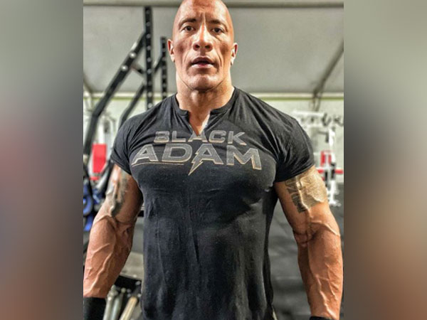 Dwayne 'The Rock' Johnson pumped up (Image Courtesy: Instagram)