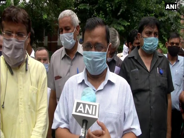 Delhi Chief Minister Arvind Kejriwal while speaking to ANI. (Photo/ANI)