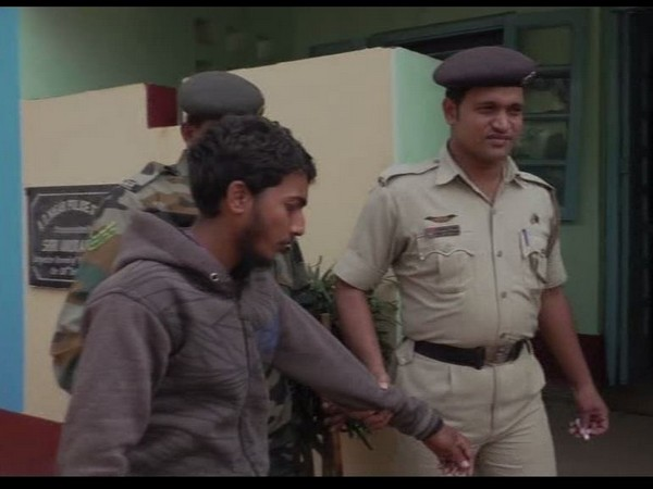 Najir Sheikh, a suspected operative of Jamaat-ul-Mujahideen Bangladesh held from Tripura on March 6. Photo/File
