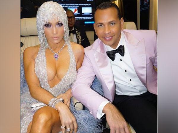 Jennifer Lopez and Alex Rodriguez, image courtesy, Instagram