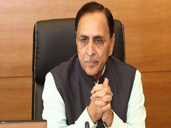 Gujarat Chief Minister Vijay Rupani (file pic/ANI).