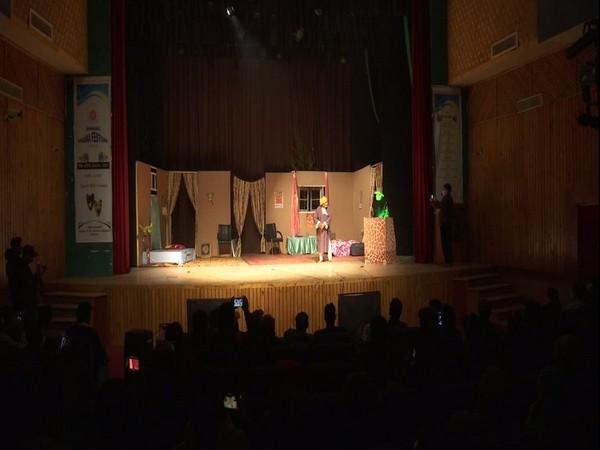 Visual of a play in annual drama festival in Srinagar
