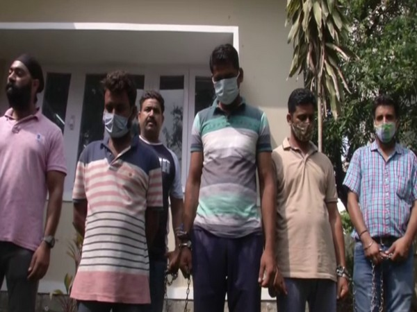 Three persons arrested with 2 kg heroin (Photo/ANI)
