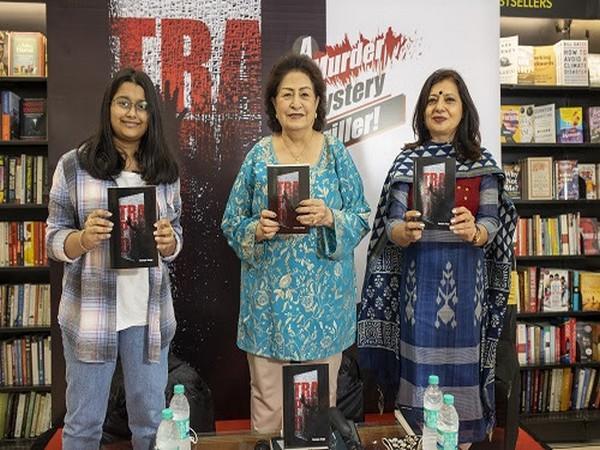 L to R: Author Soumya Jinaga, Padma Shri Lila Poonawalla and Sunanda Mehta at the launch of the book