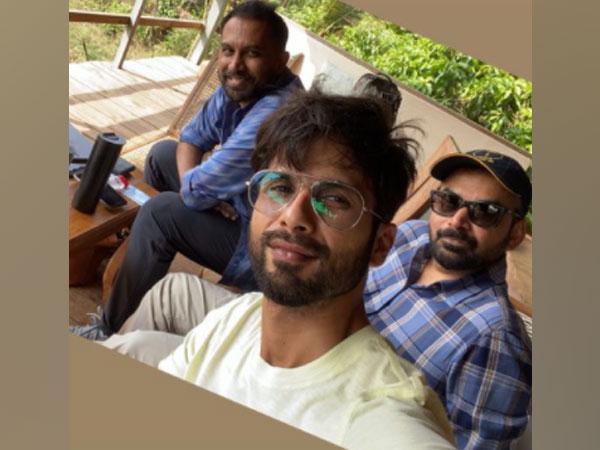 Actor Shahid Kapoor with filmmakers Raj and DK (Image Source: Instagram)