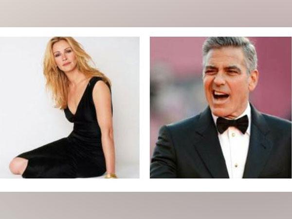 Oscar winning actors Julia Roberts and  George Clooney (Image Source: Instagram)