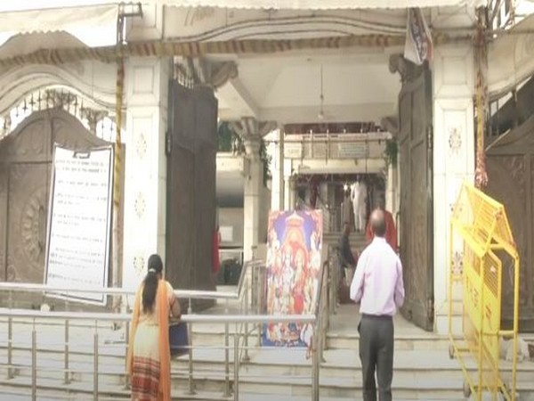 Jhandewalan Temple celeberates Janmashtami on Tuesday [Photo/ANI]