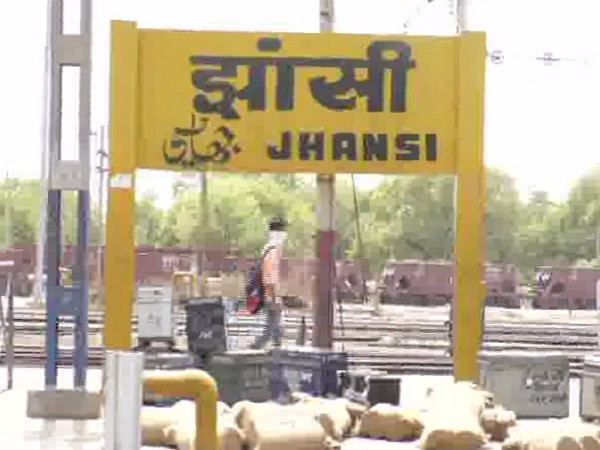Jhansi Railway station. Photo/ANI