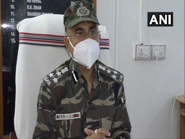 DIG, Kolhan Range, Rajeev Ranjan Singh speaking to media.
