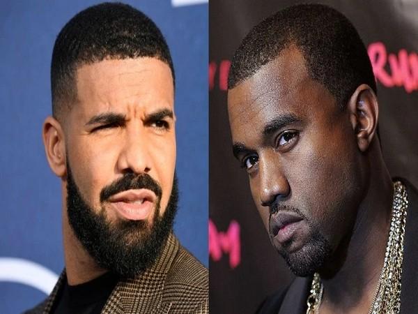 Drake, Kanye West (Image source: Instagram)