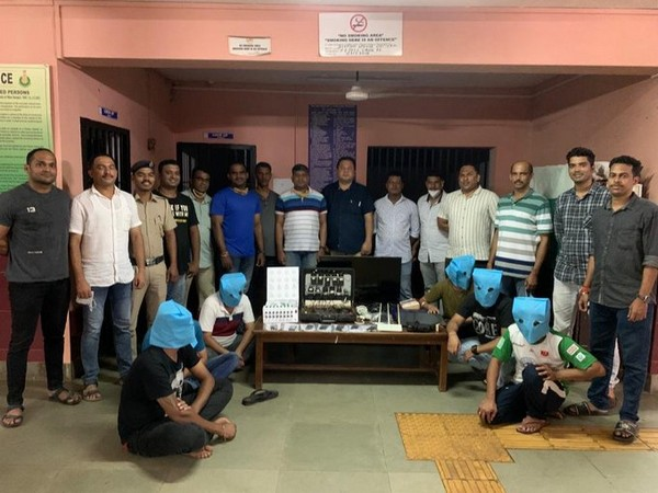 IPL betting racket busted in South Goa (Photo/ANI)