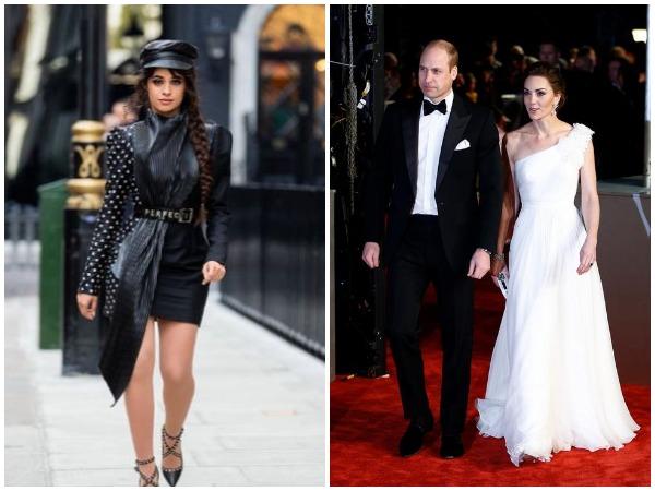 Camila Cabello, Prince William and Kate Middleton
