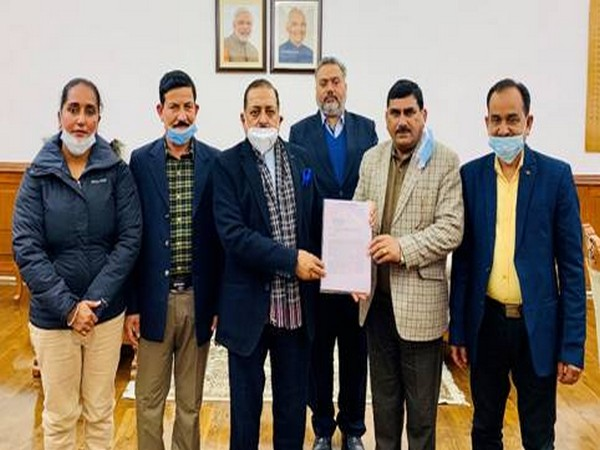 West Pakistan Refugees Action Committee from J-K meets Union Minister Dr Jitendra Singh in New Delhi on Thursday.
