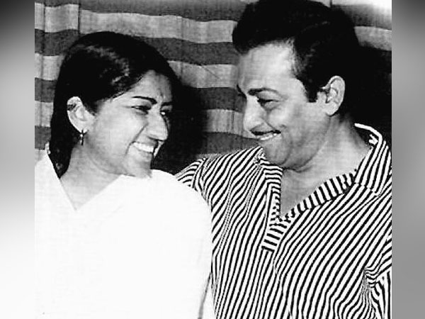 Lata Mangeshkar and Madan Mohan (Image source: Twitter)