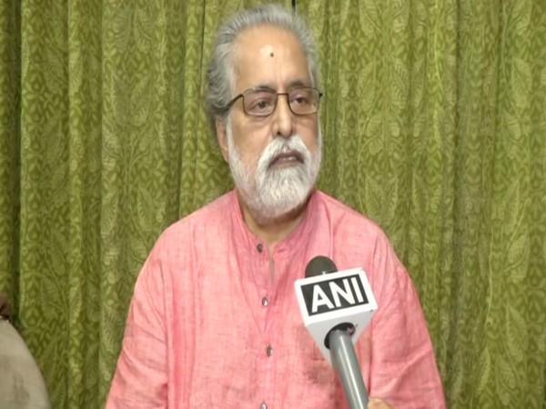 TMC MP Sudip Banerjee speaking to ANI on Monday.