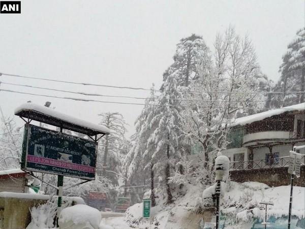 The visual of a snow-clad Jammu and Kashmir (Representative image/File photo)