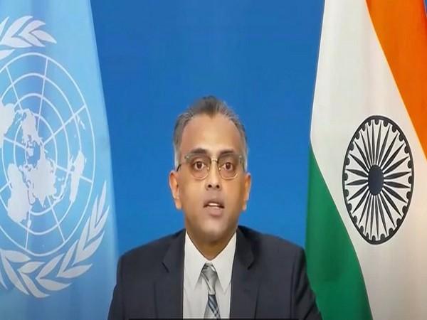 India's Deputy Permanent Representative at the United Nations, Ambassador K. Nagaraj Naidu speaking at UN on Tuesday.