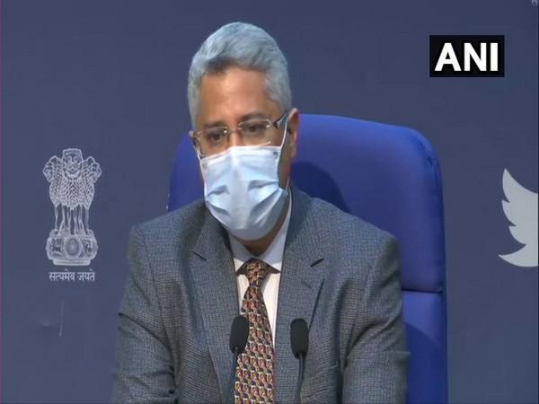 Joint Secretary of Union Health Ministry, Mandeep Bhandari (Photo/ANI)