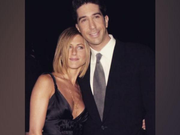 Jennifer Aniston and David Schwimmer (Image Source: Instagram)