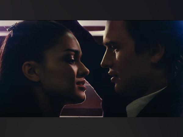 Rachel Zegler, Ansel Elgort in a still from 'West Side Story' trailer (Image source: Instagram)