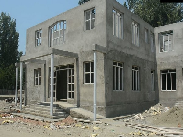 A new Public Health Centre is under construction in Jammu and Kashmir's Anatnag. (Photo/ANI)