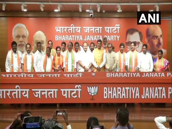 Leaders from TDP, Jan Sena and Congress joined BJP in New Delhi on Thursday