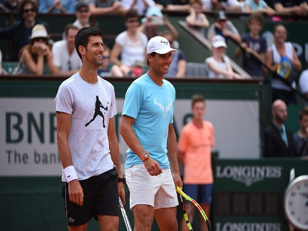 Novak Djokovic and Rafael Nadal (Photo/ Roland Garros Twitter)