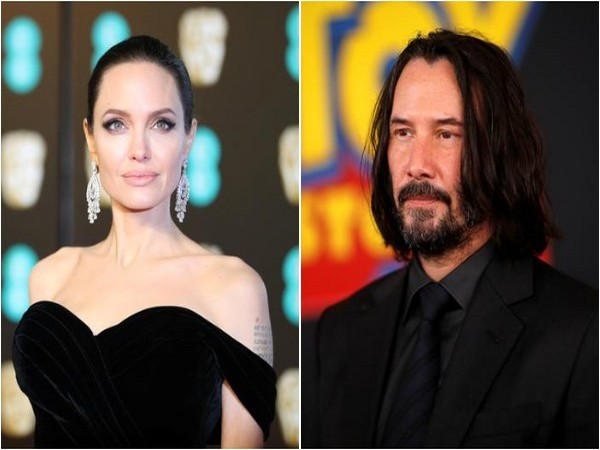 Angelina Jolie and Keanu Reeves