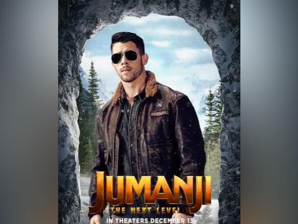 Nick Jonas in motion poster of 'Jumanji: The Next Level' (Source: Instagram)