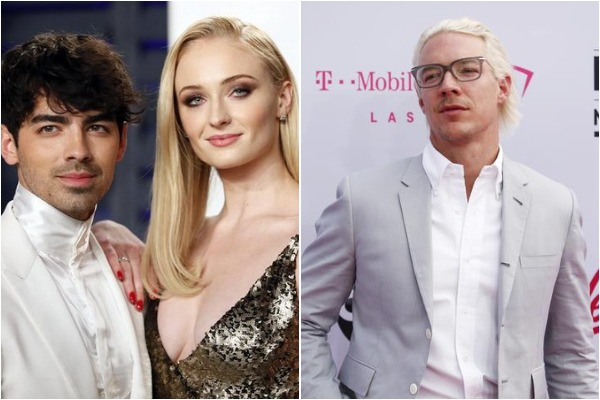 Joe Jonas, Sophie Turner and DJ Diplo
