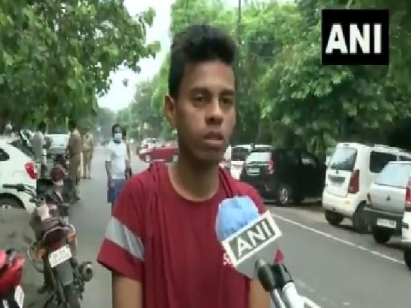 Journalist Vikram Joshi's nephew, Ashish, speaking to ANI on Wednesday. [Photo/ANI]