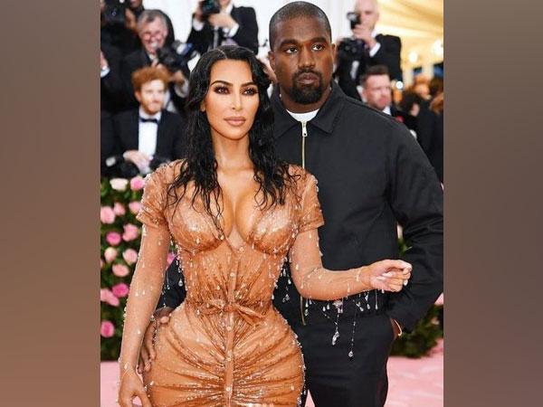 Kim Kardashian and Kanye West (Image source: Instagram)