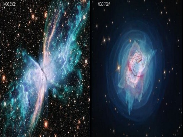 These two new images from the Hubble Space Telescope depict two nearby young planetary nebulae (Image courtesy: Credit: NASA, ESA, and J. Kastner (RIT))