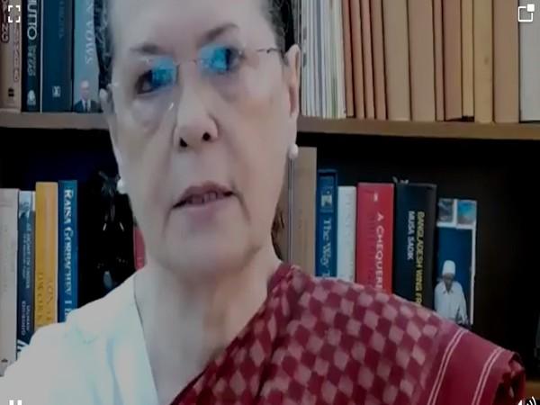 Congress president Sonia Gandhi (Photo/ANI)