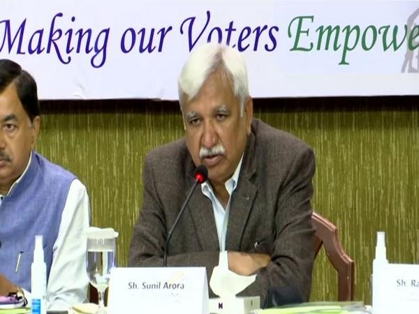 Chief Election Commissioner Sunil Arora (Photo/ANI)