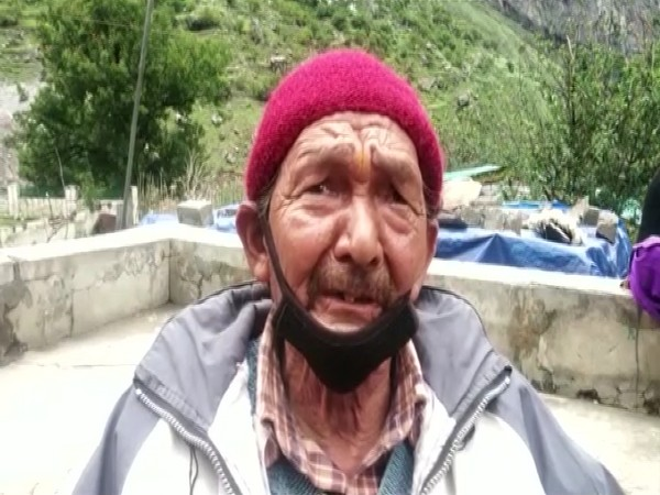 A villager of the Chamoli's Raini village (ANI).