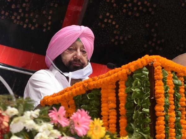 Punjab Chief Minister Captain Amarinder Singh. (Photo/ANI)