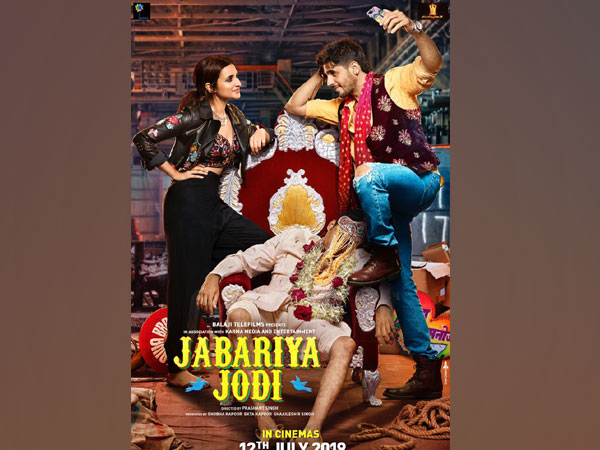 Parineeti Chopra and Sidharth Malhotra in 'Jabariya Jodi' poster, Image courtesy: Instagram