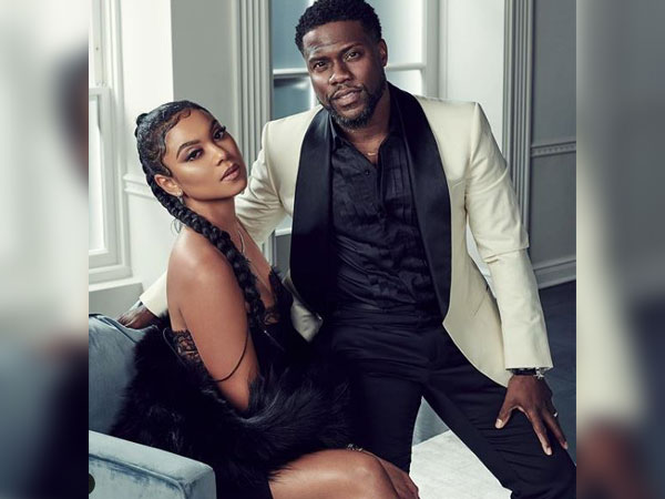Eniko Parish and Kevin Hart (Image courtesy: Instagram)
