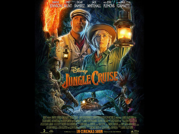 Poster of 'Jungle Cruise' (Image source: Instagram)