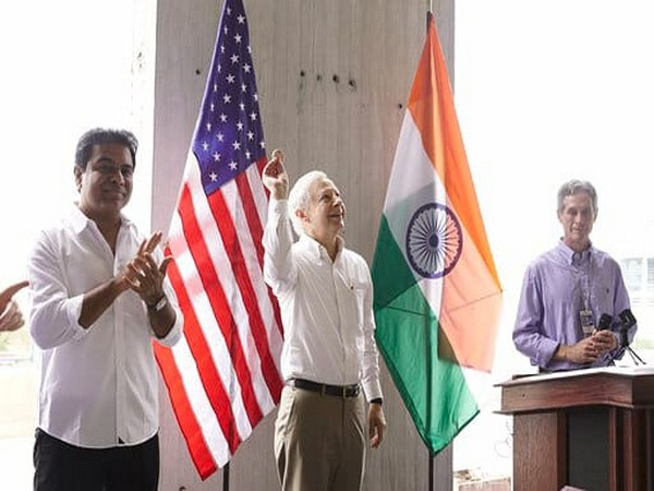 US Ambassador to India Kenneth Juster at an event in Hyderabad on Tuesday