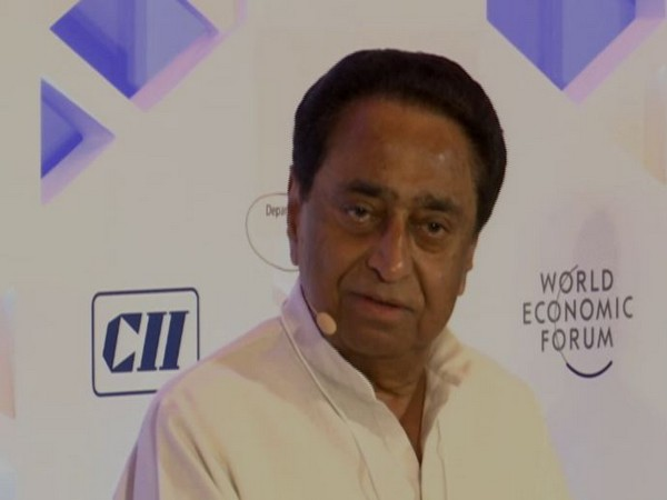 Madhya Pradesh Chief Minister Kamal Nath speaking at an event in New Delhi on Thursday. Photo/ANI