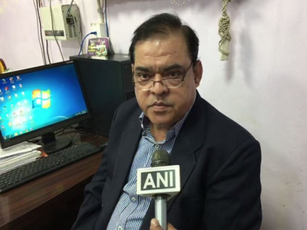 Deputy Chief Medical Officer (CMO)of Kanpur Nagar speaking to reporters on Tuesday. Photo/ANI