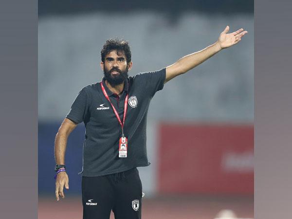 NEUFC coach Khalid Jamil (Image: ISL)