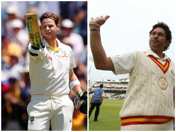 Steven Smith (left) and Sachin Tendulkar (right)