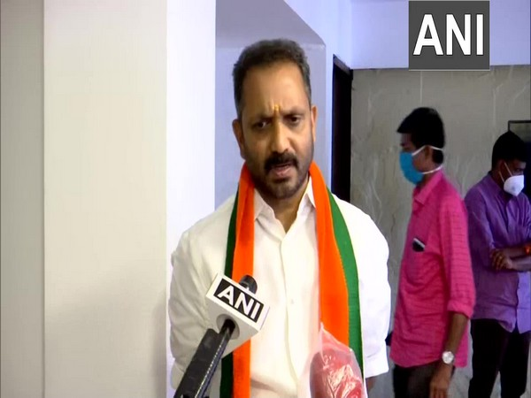 Kerala BJP chief K Surendran. (Photo/ANI)