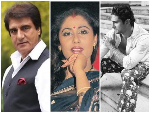 Raj Babbar, Smita Patil, Prateik Babbar (Image courtesy: Twitter)