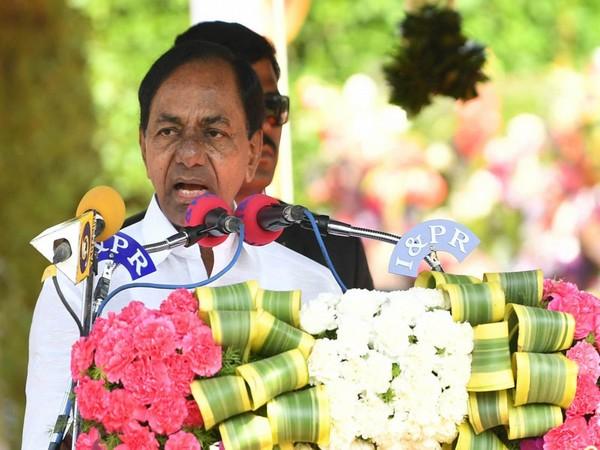 Telangana Chief Minister K Chandrashekhar Rao [File Photo/ANI]